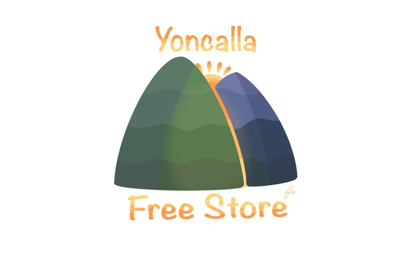 Yoncalla Free Store Logo